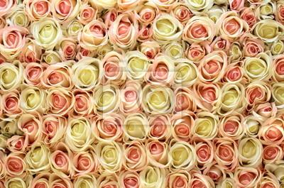 Постер Розы Розовые и белые розы фон.Розы<br>Постер на холсте или бумаге. Любого нужного вам размера. В раме или без. Подвес в комплекте. Трехслойная надежная упаковка. Доставим в любую точку России. Вам осталось только повесить картину на стену!<br>