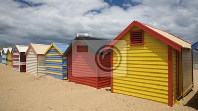 Постер Мельбурн Красочных Пляжные Хижины в АвстралииМельбурн<br>Постер на холсте или бумаге. Любого нужного вам размера. В раме или без. Подвес в комплекте. Трехслойная надежная упаковка. Доставим в любую точку России. Вам осталось только повесить картину на стену!<br>