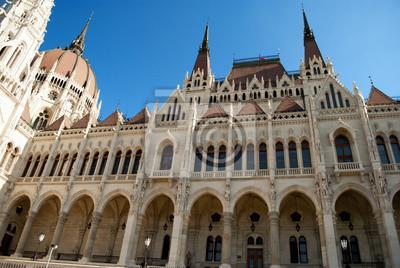 Постер Будапешт Парламент Будапешта (Венгрия)Будапешт<br>Постер на холсте или бумаге. Любого нужного вам размера. В раме или без. Подвес в комплекте. Трехслойная надежная упаковка. Доставим в любую точку России. Вам осталось только повесить картину на стену!<br>