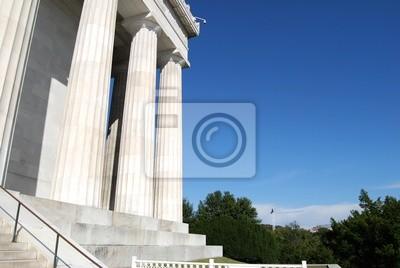 Постер Вашингтон Мемориал Линкольна Архитектуры в Вашингтоне, округ Колумбия, СШАВашингтон<br>Постер на холсте или бумаге. Любого нужного вам размера. В раме или без. Подвес в комплекте. Трехслойная надежная упаковка. Доставим в любую точку России. Вам осталось только повесить картину на стену!<br>