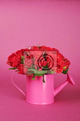 Букет из красных роз, 20x30 см, на бумагеРозы<br>Постер на холсте или бумаге. Любого нужного вам размера. В раме или без. Подвес в комплекте. Трехслойная надежная упаковка. Доставим в любую точку России. Вам осталось только повесить картину на стену!<br>