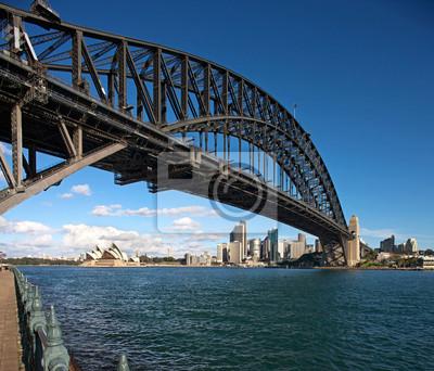 Постер Сидней Sydney Harbour Bridge, на рассвете,Сидней<br>Постер на холсте или бумаге. Любого нужного вам размера. В раме или без. Подвес в комплекте. Трехслойная надежная упаковка. Доставим в любую точку России. Вам осталось только повесить картину на стену!<br>