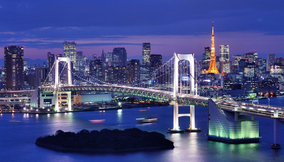 Постер Токио Токийский ЗаливТокио<br>Постер на холсте или бумаге. Любого нужного вам размера. В раме или без. Подвес в комплекте. Трехслойная надежная упаковка. Доставим в любую точку России. Вам осталось только повесить картину на стену!<br>
