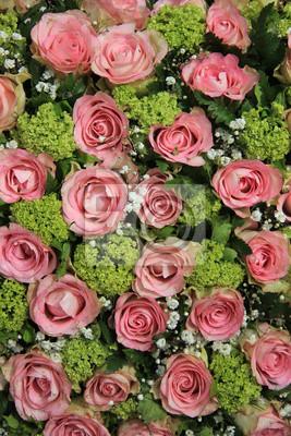 Постер Розы Розовые розы свадьбы центромРозы<br>Постер на холсте или бумаге. Любого нужного вам размера. В раме или без. Подвес в комплекте. Трехслойная надежная упаковка. Доставим в любую точку России. Вам осталось только повесить картину на стену!<br>