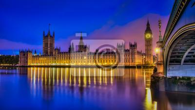 Постер Лондон Британский парламентЛондон<br>Постер на холсте или бумаге. Любого нужного вам размера. В раме или без. Подвес в комплекте. Трехслойная надежная упаковка. Доставим в любую точку России. Вам осталось только повесить картину на стену!<br>
