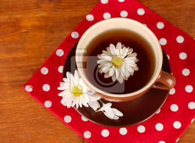 Постер Ромашки Ромашковый чай на деревянных фонаРомашки<br>Постер на холсте или бумаге. Любого нужного вам размера. В раме или без. Подвес в комплекте. Трехслойная надежная упаковка. Доставим в любую точку России. Вам осталось только повесить картину на стену!<br>