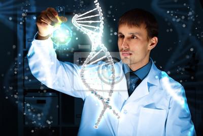 Постер Медицина ДНК иллюстрацииМедицина<br>Постер на холсте или бумаге. Любого нужного вам размера. В раме или без. Подвес в комплекте. Трехслойная надежная упаковка. Доставим в любую точку России. Вам осталось только повесить картину на стену!<br>