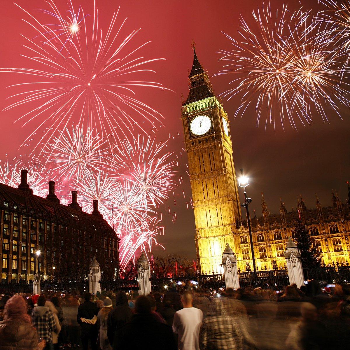Все о новом годе в англии на английском языке