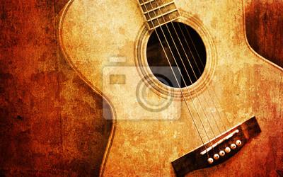 Постер Деятельность Старая гитара, 32x20 см, на бумагеМузыка<br>Постер на холсте или бумаге. Любого нужного вам размера. В раме или без. Подвес в комплекте. Трехслойная надежная упаковка. Доставим в любую точку России. Вам осталось только повесить картину на стену!<br>