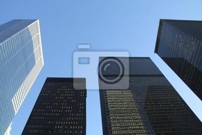 Постер Торонто Четыре ЗданияТоронто<br>Постер на холсте или бумаге. Любого нужного вам размера. В раме или без. Подвес в комплекте. Трехслойная надежная упаковка. Доставим в любую точку России. Вам осталось только повесить картину на стену!<br>