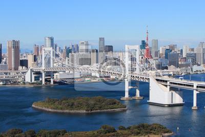 Постер Токио Радужный мост в Токио, ЯпонияТокио<br>Постер на холсте или бумаге. Любого нужного вам размера. В раме или без. Подвес в комплекте. Трехслойная надежная упаковка. Доставим в любую точку России. Вам осталось только повесить картину на стену!<br>