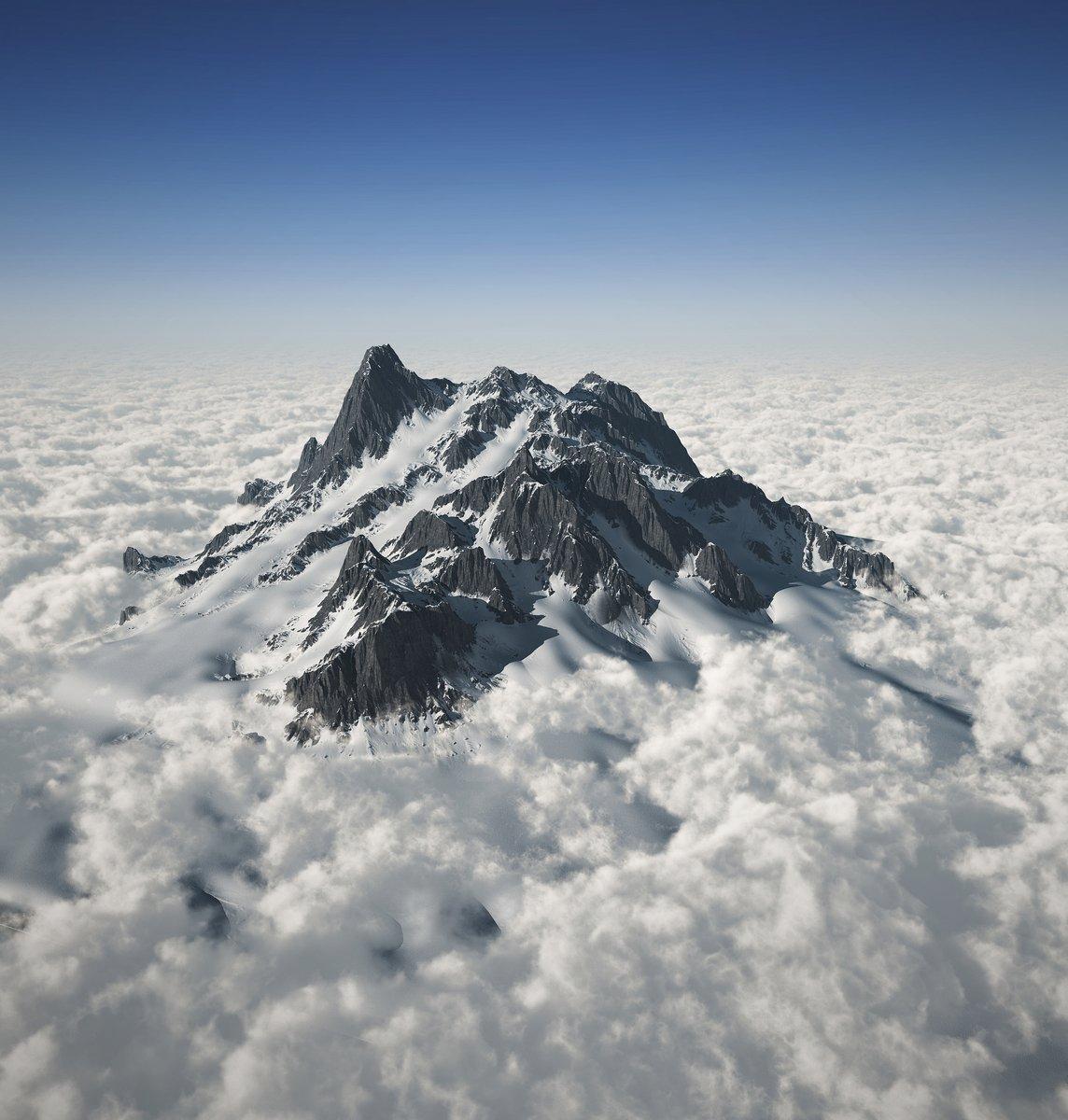 Постер Альпийский пейзаж Горная вершина, над облакамиАльпийский пейзаж<br>Постер на холсте или бумаге. Любого нужного вам размера. В раме или без. Подвес в комплекте. Трехслойная надежная упаковка. Доставим в любую точку России. Вам осталось только повесить картину на стену!<br>