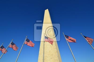 Монумент Вашингтона с США флаги, 30x20 см, на бумагеВашингтон<br>Постер на холсте или бумаге. Любого нужного вам размера. В раме или без. Подвес в комплекте. Трехслойная надежная упаковка. Доставим в любую точку России. Вам осталось только повесить картину на стену!<br>