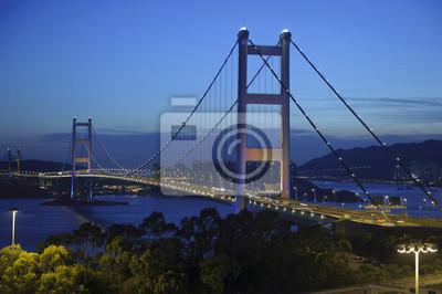 Постер Сан-Франциско Гонконг Мост НочьСан-Франциско<br>Постер на холсте или бумаге. Любого нужного вам размера. В раме или без. Подвес в комплекте. Трехслойная надежная упаковка. Доставим в любую точку России. Вам осталось только повесить картину на стену!<br>