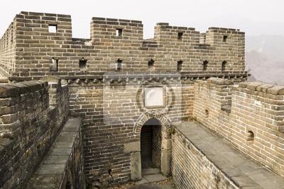 Постер Пекин Небольшой Проем в Великой СтеныПекин<br>Постер на холсте или бумаге. Любого нужного вам размера. В раме или без. Подвес в комплекте. Трехслойная надежная упаковка. Доставим в любую точку России. Вам осталось только повесить картину на стену!<br>
