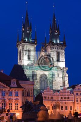 Постер Прага Прага-ночьПрага<br>Постер на холсте или бумаге. Любого нужного вам размера. В раме или без. Подвес в комплекте. Трехслойная надежная упаковка. Доставим в любую точку России. Вам осталось только повесить картину на стену!<br>