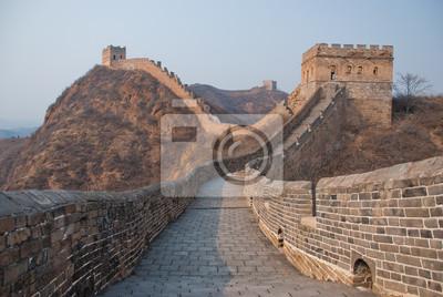 Постер Пекин Великая китайская СтенаПекин<br>Постер на холсте или бумаге. Любого нужного вам размера. В раме или без. Подвес в комплекте. Трехслойная надежная упаковка. Доставим в любую точку России. Вам осталось только повесить картину на стену!<br>