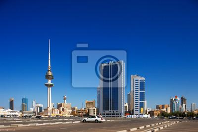Постер Кувейт Кувейт-Сити обнял современной архитектурыКувейт<br>Постер на холсте или бумаге. Любого нужного вам размера. В раме или без. Подвес в комплекте. Трехслойная надежная упаковка. Доставим в любую точку России. Вам осталось только повесить картину на стену!<br>