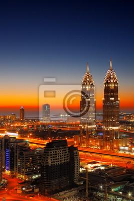 Постер ОАЭ Sheikh Zayed Road, Дубай, ОАЭОАЭ<br>Постер на холсте или бумаге. Любого нужного вам размера. В раме или без. Подвес в комплекте. Трехслойная надежная упаковка. Доставим в любую точку России. Вам осталось только повесить картину на стену!<br>