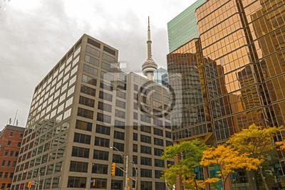 Постер Торонто Торонто Небоскреб Office TowersТоронто<br>Постер на холсте или бумаге. Любого нужного вам размера. В раме или без. Подвес в комплекте. Трехслойная надежная упаковка. Доставим в любую точку России. Вам осталось только повесить картину на стену!<br>