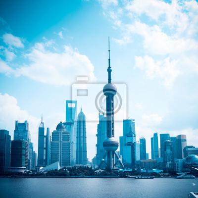 Постер Города и карты Современное здание в Шанхае, 20x20 см, на бумагеШанхай<br>Постер на холсте или бумаге. Любого нужного вам размера. В раме или без. Подвес в комплекте. Трехслойная надежная упаковка. Доставим в любую точку России. Вам осталось только повесить картину на стену!<br>
