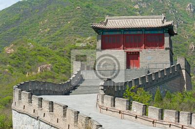 Постер Пекин Великая китайская Стена в JuyongguanПекин<br>Постер на холсте или бумаге. Любого нужного вам размера. В раме или без. Подвес в комплекте. Трехслойная надежная упаковка. Доставим в любую точку России. Вам осталось только повесить картину на стену!<br>