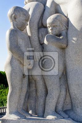 Постер Осло Вигеланда статуя детейОсло<br>Постер на холсте или бумаге. Любого нужного вам размера. В раме или без. Подвес в комплекте. Трехслойная надежная упаковка. Доставим в любую точку России. Вам осталось только повесить картину на стену!<br>