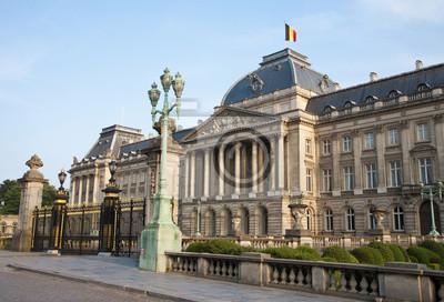Постер Брюссель Брюссель - Королевский дворец в вечернем светеБрюссель<br>Постер на холсте или бумаге. Любого нужного вам размера. В раме или без. Подвес в комплекте. Трехслойная надежная упаковка. Доставим в любую точку России. Вам осталось только повесить картину на стену!<br>