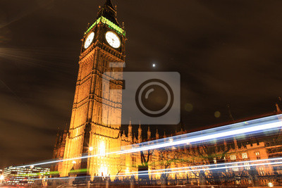 Постер Лондон Биг Бен Ночью, ЛондонЛондон<br>Постер на холсте или бумаге. Любого нужного вам размера. В раме или без. Подвес в комплекте. Трехслойная надежная упаковка. Доставим в любую точку России. Вам осталось только повесить картину на стену!<br>