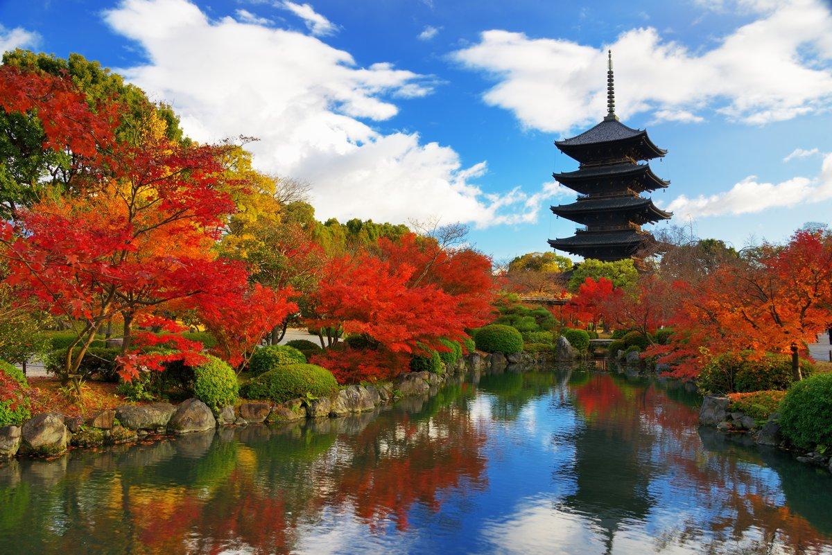 Постер Япония Toji Пагода в Киото, ЯпонияЯпония<br>Постер на холсте или бумаге. Любого нужного вам размера. В раме или без. Подвес в комплекте. Трехслойная надежная упаковка. Доставим в любую точку России. Вам осталось только повесить картину на стену!<br>