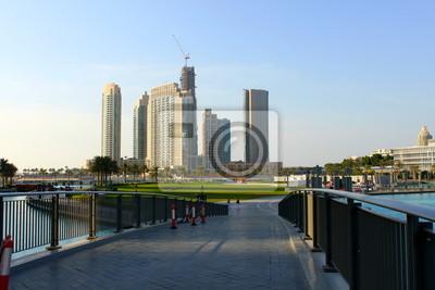 Постер Дубай Dubai downtownДубай<br>Постер на холсте или бумаге. Любого нужного вам размера. В раме или без. Подвес в комплекте. Трехслойная надежная упаковка. Доставим в любую точку России. Вам осталось только повесить картину на стену!<br>