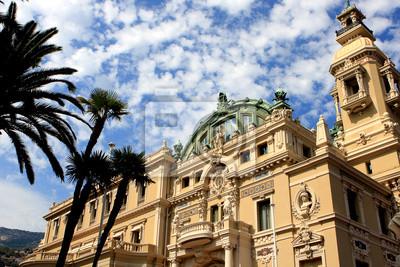 Постер Монако В опере Монте-Карло, МонакоМонако<br>Постер на холсте или бумаге. Любого нужного вам размера. В раме или без. Подвес в комплекте. Трехслойная надежная упаковка. Доставим в любую точку России. Вам осталось только повесить картину на стену!<br>