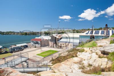 Постер Сидней Промышленные Какаду Остров, Сидней, Австралия.Сидней<br>Постер на холсте или бумаге. Любого нужного вам размера. В раме или без. Подвес в комплекте. Трехслойная надежная упаковка. Доставим в любую точку России. Вам осталось только повесить картину на стену!<br>