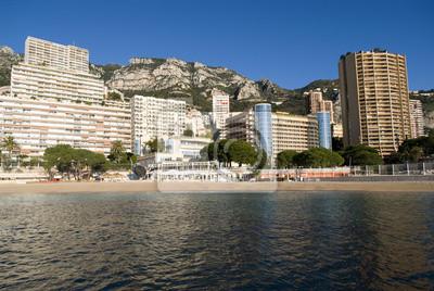 Постер Монако Монте-Карло небоскребовМонако<br>Постер на холсте или бумаге. Любого нужного вам размера. В раме или без. Подвес в комплекте. Трехслойная надежная упаковка. Доставим в любую точку России. Вам осталось только повесить картину на стену!<br>