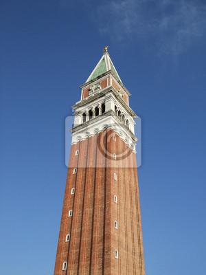 Постер Венеция Campanile di San Marco, Венеция, Италия.Венеция<br>Постер на холсте или бумаге. Любого нужного вам размера. В раме или без. Подвес в комплекте. Трехслойная надежная упаковка. Доставим в любую точку России. Вам осталось только повесить картину на стену!<br>