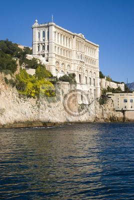 Постер Монако Океанографический институт в МонакоМонако<br>Постер на холсте или бумаге. Любого нужного вам размера. В раме или без. Подвес в комплекте. Трехслойная надежная упаковка. Доставим в любую точку России. Вам осталось только повесить картину на стену!<br>