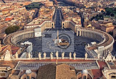 Постер Ватикан Пьяцца Сан-Пьетро в ВатиканеВатикан<br>Постер на холсте или бумаге. Любого нужного вам размера. В раме или без. Подвес в комплекте. Трехслойная надежная упаковка. Доставим в любую точку России. Вам осталось только повесить картину на стену!<br>