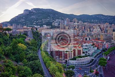 Широкий взгляд Монако, Монте-Карло, 30x20 см, на бумагеМонако<br>Постер на холсте или бумаге. Любого нужного вам размера. В раме или без. Подвес в комплекте. Трехслойная надежная упаковка. Доставим в любую точку России. Вам осталось только повесить картину на стену!<br>