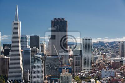 Постер Сан-Франциско Сан-Франциско, Skyline, Финансового РайонаСан-Франциско<br>Постер на холсте или бумаге. Любого нужного вам размера. В раме или без. Подвес в комплекте. Трехслойная надежная упаковка. Доставим в любую точку России. Вам осталось только повесить картину на стену!<br>