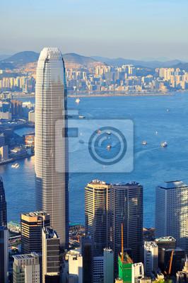 Постер Гонконг Гавань ВикторияГонконг<br>Постер на холсте или бумаге. Любого нужного вам размера. В раме или без. Подвес в комплекте. Трехслойная надежная упаковка. Доставим в любую точку России. Вам осталось только повесить картину на стену!<br>