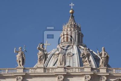 Постер Ватикан Собор Святого ПетраВатикан<br>Постер на холсте или бумаге. Любого нужного вам размера. В раме или без. Подвес в комплекте. Трехслойная надежная упаковка. Доставим в любую точку России. Вам осталось только повесить картину на стену!<br>