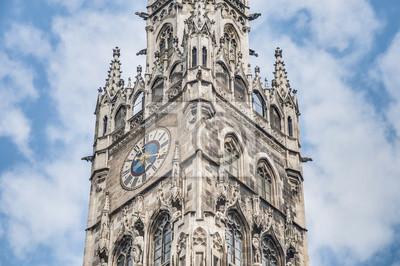 Постер Мюнхен Neues Rathaus здании в Мюнхене, ГерманияМюнхен<br>Постер на холсте или бумаге. Любого нужного вам размера. В раме или без. Подвес в комплекте. Трехслойная надежная упаковка. Доставим в любую точку России. Вам осталось только повесить картину на стену!<br>
