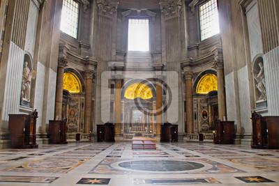 Постер Ватикан Закрытый вид на базилику Святого ПетраВатикан<br>Постер на холсте или бумаге. Любого нужного вам размера. В раме или без. Подвес в комплекте. Трехслойная надежная упаковка. Доставим в любую точку России. Вам осталось только повесить картину на стену!<br>
