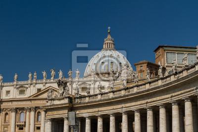 Постер Ватикан Базилика Сан-Пьетро, Ватикан, Рим, ИталияВатикан<br>Постер на холсте или бумаге. Любого нужного вам размера. В раме или без. Подвес в комплекте. Трехслойная надежная упаковка. Доставим в любую точку России. Вам осталось только повесить картину на стену!<br>