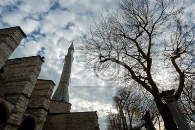 Постер Стамбул Собор Святой Софии, Стамбул, ТурцияСтамбул<br>Постер на холсте или бумаге. Любого нужного вам размера. В раме или без. Подвес в комплекте. Трехслойная надежная упаковка. Доставим в любую точку России. Вам осталось только повесить картину на стену!<br>
