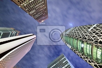 Постер Токио Токио Высоко ПоднимаетсяТокио<br>Постер на холсте или бумаге. Любого нужного вам размера. В раме или без. Подвес в комплекте. Трехслойная надежная упаковка. Доставим в любую точку России. Вам осталось только повесить картину на стену!<br>