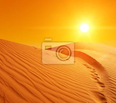 Постер Африканский пейзаж Песчаные дюны в СахареАфриканский пейзаж<br>Постер на холсте или бумаге. Любого нужного вам размера. В раме или без. Подвес в комплекте. Трехслойная надежная упаковка. Доставим в любую точку России. Вам осталось только повесить картину на стену!<br>