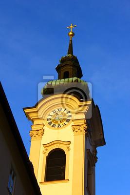Постер Зальцбург Loretokirche, Зальцбург, АвстрияЗальцбург<br>Постер на холсте или бумаге. Любого нужного вам размера. В раме или без. Подвес в комплекте. Трехслойная надежная упаковка. Доставим в любую точку России. Вам осталось только повесить картину на стену!<br>