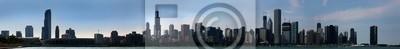 Постер Города и карты Чикаго город днем с набережной и центра города, 163x20 см, на бумагеЧикаго<br>Постер на холсте или бумаге. Любого нужного вам размера. В раме или без. Подвес в комплекте. Трехслойная надежная упаковка. Доставим в любую точку России. Вам осталось только повесить картину на стену!<br>