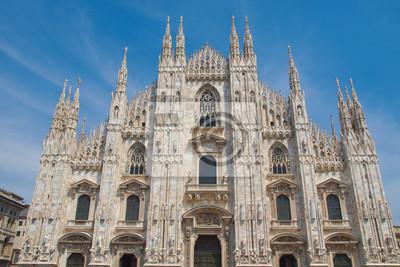 Постер Города и карты Duomo, Милан, 30x20 см, на бумагеМилан<br>Постер на холсте или бумаге. Любого нужного вам размера. В раме или без. Подвес в комплекте. Трехслойная надежная упаковка. Доставим в любую точку России. Вам осталось только повесить картину на стену!<br>